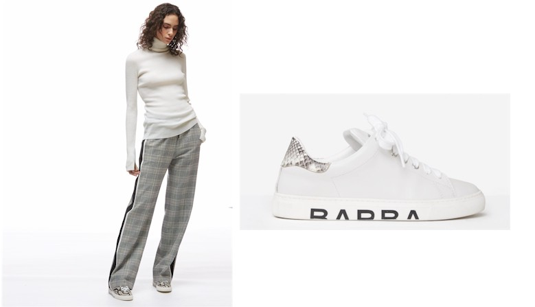 Pantalon et baskets BARBARA BUI